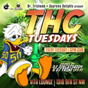 THC Tuesday - September 26 2017