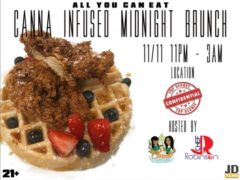 420 Canna Infuse Midnight brunch by Cloud Queens Entertainment - November 11 2017