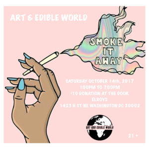 ART & EDIBLE WORLD Hosted by Art and Edible Pop Up Shop - October 14 2017