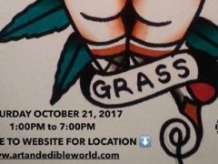 ART & EDIBLE WORLD Hosted by Art and Edible Pop Up Shop - October 21 2017