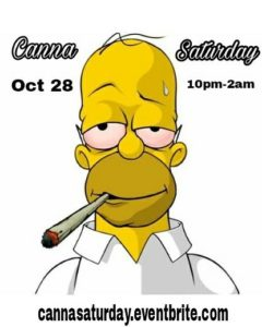 Canna Saturday by Supreme Delights - October 28 2017