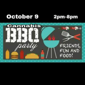 Cannabis BBQ Party at the Peace House - October 9 2017