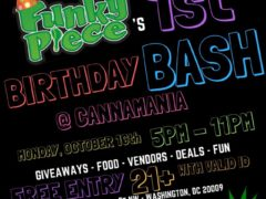 FunkyPiece 1st Birthday Bash - October 16 2017