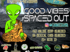 Good Vibes Spaced Out Hosted by Cannabis Karma - October 9 2017