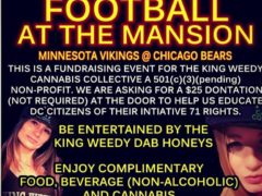 King Weedy presents Monday Night Football - October 9 2017