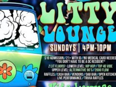 LITTY LOUNGE SUNDAYS Hosted by The High Society DC Events - October 22 2017