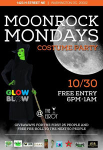 Moonrock Mondays Costume Party - October 30 2017