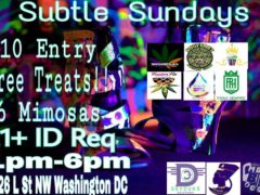 Subtle Sundays Hosted by Subtle Sundays - October 15 2017