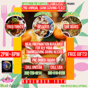 2nd Annual Danksgiving Feast - November 19 2017
