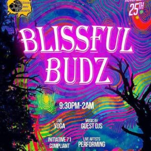Blissful Budz DC Hosted by Trichome Honey Concepts - November 25 2017