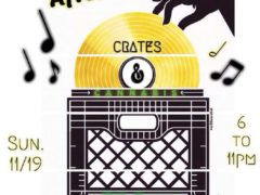 Crates & Cannabis: Digging in the Crates Hosted by House of Mary - November 19 2017
