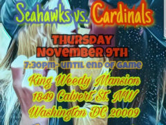 King Weedy's Thursday Night Football At The Mansion - November 9 2017