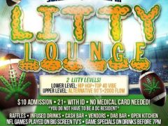 LITTY LOUNGE SUNDAYS Hosted by The High Society DC Events - November 12 2017