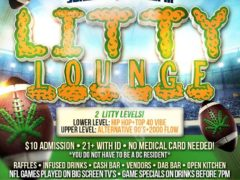LITTY LOUNGE SUNDAYS Hosted by The High Society DC Events - November 5 2017