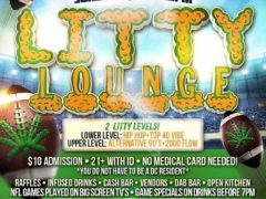 LITTY LOUNGE SUNDAYS Hosted by The High Society DC - November 19 2017