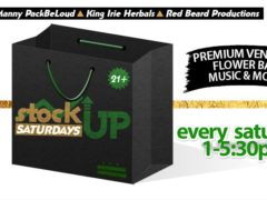 Stock Up Saturdays Hosted by King Irie Herbals - November 11 2017
