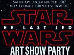 The STAR WARS ART SHOW PARTY - December 9 2017