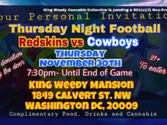 Thursday Night Football At The Mansion - November 30 2017