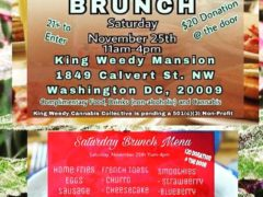 Brunch at King Weedy Mansion - November 25 2017