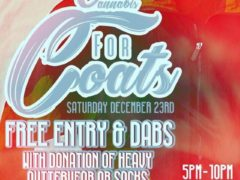 CANNABIS FOR COATS!!!!! Hosted by Otp Concessions DC - December 23 2017