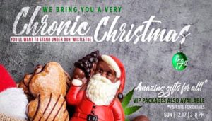 Chronic Christmas Hosted by Cloud Events DC (DC) December 17 2017