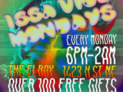 ISSA VIBE MONDAYS!!! Hosted by Otp Concessions DC - December 11 2017