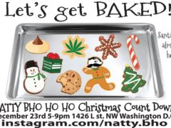 Let's Get Baked Hosted by Natty BHO (DC) December 23 2017