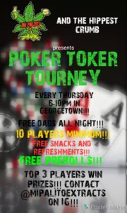Poker Tokers Weekly Tournament Hosted by Mangani Cacoteo - December 28 2017