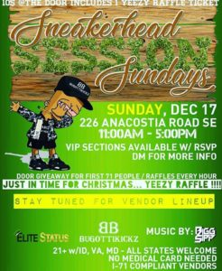 Sneakerhead Sundays (DC) December 17 2017