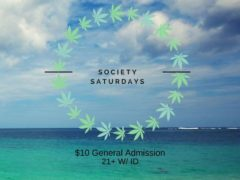 Society Saturdays Hosted by The High Society DC Events (DC) December 30 2017