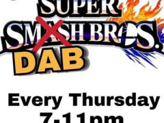 SuperDabBrothers 4wk Video Game Tournament - December 7 2017