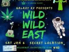 Wild Wild East - CannaBazaar Hosted by Galaxy.RX (DC) January 6 2018