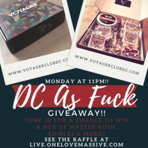 DC As Fuck Giveaway (DC) February 26 2018