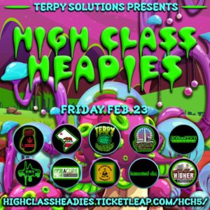 High ClassHeadies 5 hosted by Terpy Solutions (DC) February 23 2018