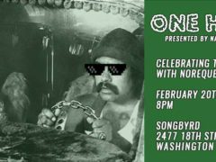 "National Cannabis Festival Pre-Event Series: ""One Hitters"" DJ Set (DC) February 20 2018"