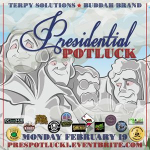 Presidential Potluck by Terpy Solutions (DC) February 19 2018