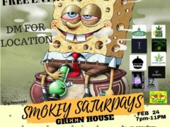 Smokey Saturdays (DC) February 24 2018