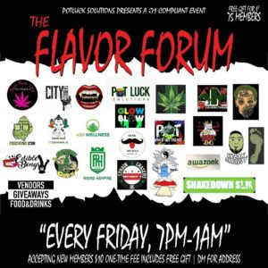The Flavor Forum presented by Pot Luck Solutions, LLC (DC) February 9 2018
