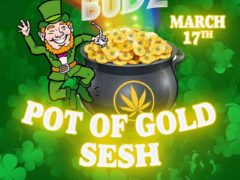 Blissful Budz Pot of Gold Sesh by Trichome Honey Concepts (DC) March 17 2018