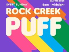 Rock Creek Puff Party (DC) March 11 2018