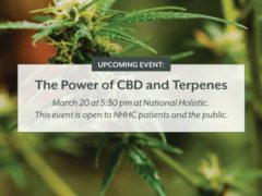 THE POWER OF CBD AND TERPENES By National Holistic Healing Center (DC) March 20 2018
