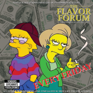 The Flavor Forum presented by Pot Luck Solutions (DC) March 9 2018