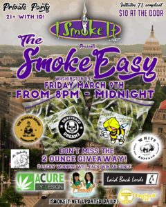 The Smoke Easy (DC) March 9 2018
