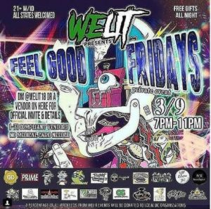 WeLit Presents Feel Good Fridays (DC) March 9 2018