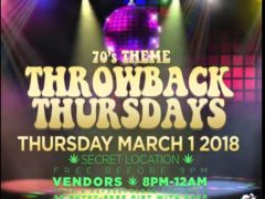 ThrowBack Thursdays: That 70's Edition Hosted by Glazed & Infuzed (DC)
