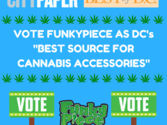 Vote for Funky Piece for Best of DC for Cannabis Accessories