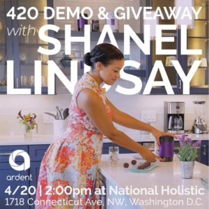 420 Demo and Giveaway by National Holistic Healing Center (DC) April 20 2018