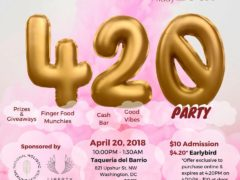 4/20 Women Grow Party Event for Women Grow: DC Chapter (DC) April 20 2018