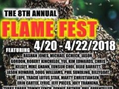 8th Annual Flame Fest Hosted by PureVirtue Glass (MD) April 20 - April 22 2018