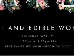 ART & EDIBLE WORLD (DC) May 19 2018